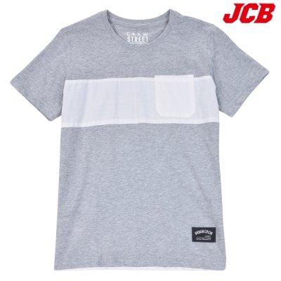 [패션플러스 / JCB] JCB  남아 26수 포켓 우븐 배색 티셔츠 (JBK8M318BS)